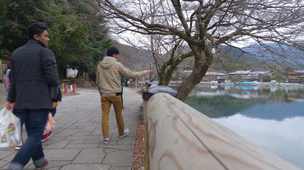 Tersesat dipinggir Sungai Hozu dan Katsura
